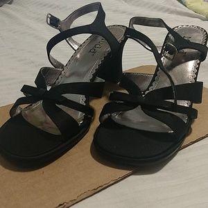 Small Black Heel